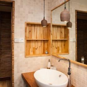 日式卫生间卫浴效果图