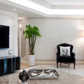 现代简约欧式客厅图片