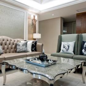 现代简约欧式客厅装修图