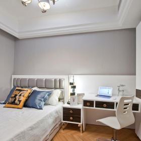 现代简约欧式卧室装修图