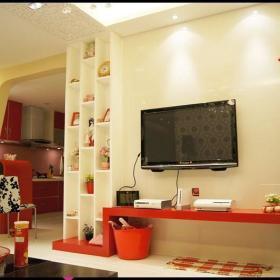 现代简约韩式混搭客厅设计案例展示