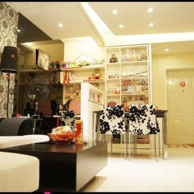 现代简约韩式混搭客厅装修效果展示