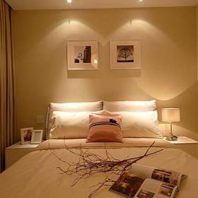 现代简约简欧卧室效果图