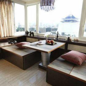 日式美式混搭客厅设计案例