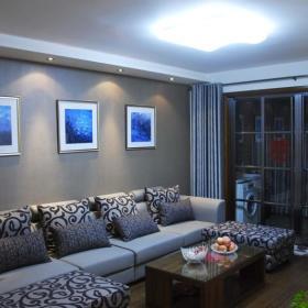 中式欧式新古典混搭客厅设计案例展示