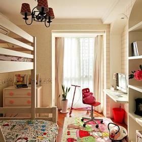 新古典美式复古儿童房案例展示