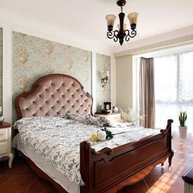 新古典美式复古卧室设计图