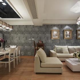 现代简约简欧客厅案例展示