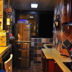 田园地中海新古典复古厨房设计案例
