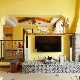 地中海客厅设计案例