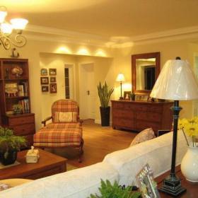 现代简约田园客厅图片