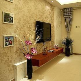 现代简约简欧客厅装修图