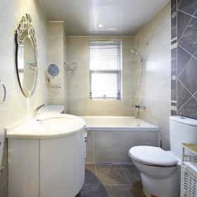 现代简约欧式日式卫生间设计案例