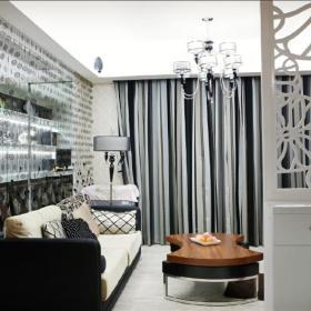 现代简约欧式新古典客厅装修效果展示