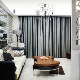 现代简约欧式新古典客厅装修图