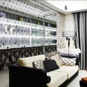 现代简约欧式新古典客厅设计图