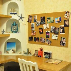 地中海混搭书房设计案例