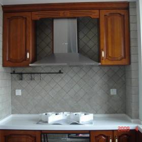 美式混搭复古厨房装修案例