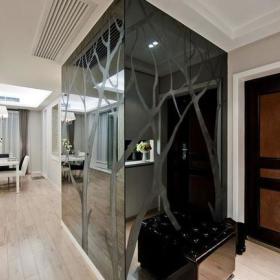 现代简约玄关玄关柜设计图