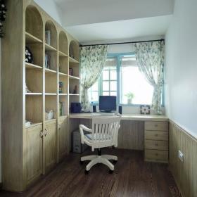 地中海书房装修效果展示