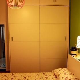 现代简约复古卧室设计图