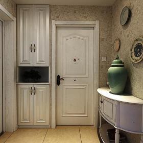 美式玄关玄关柜设计案例展示