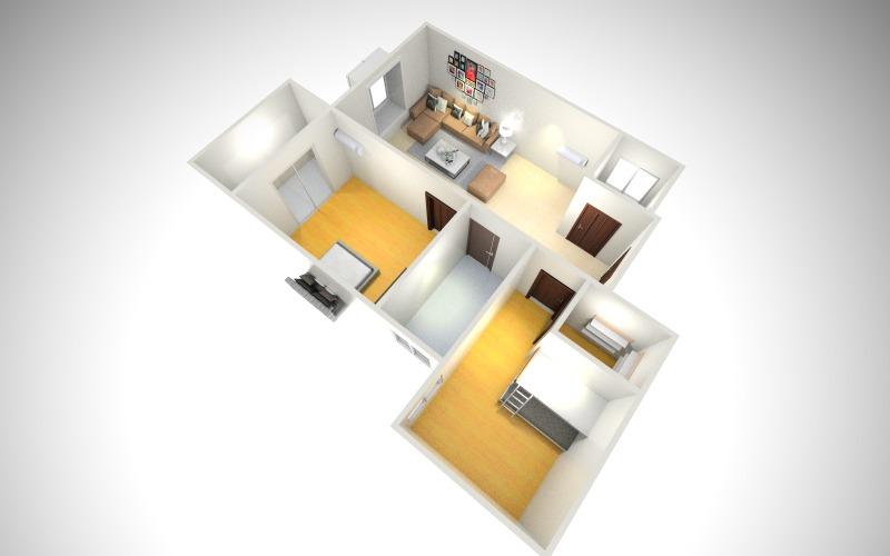 爱情公寓-俯视图