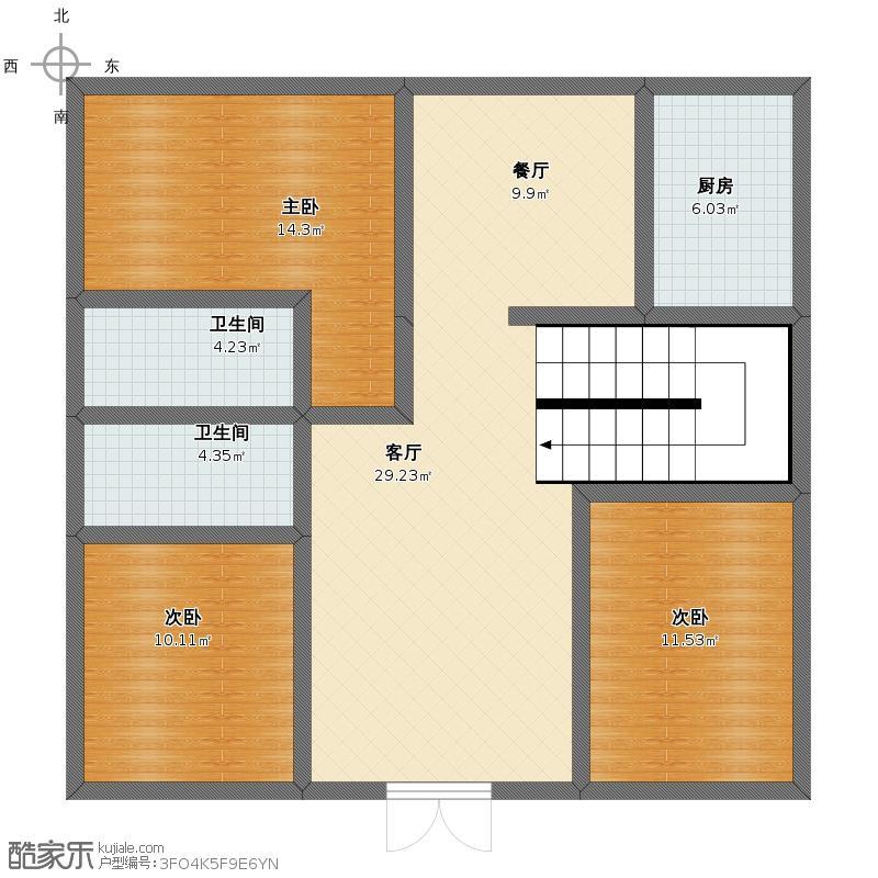 房屋设计图 带图片,长十米宽七米要建三层农村民房求平面设计图非常图片
