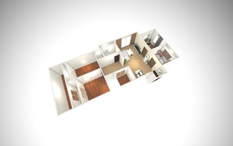房子-俯视图