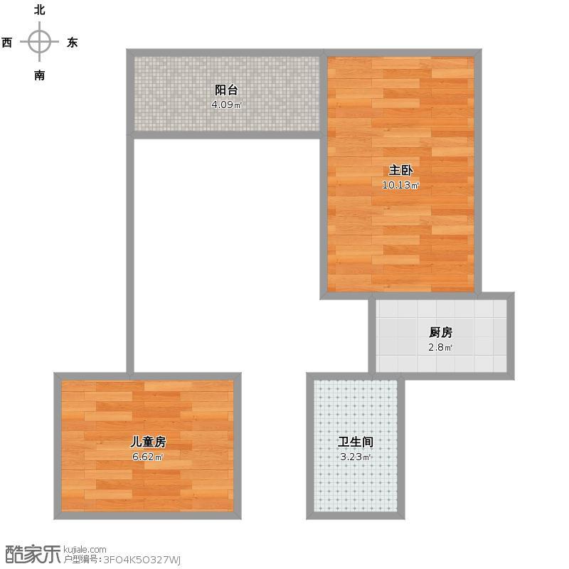 盐城壹书邻里的房型结构图
