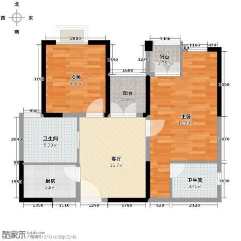 东方国际广场61.30㎡户型10室-副本