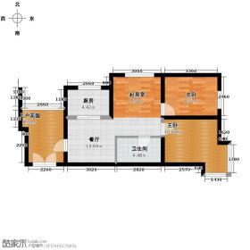 永盛水调歌城83.44㎡23-G7户型10室