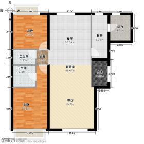 新天际SPACE+(地铁版)126.00㎡3+户型10室