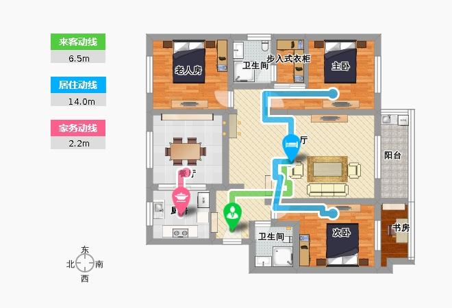 量房户型图