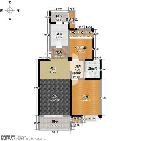 新创玉山广场83.00㎡多层户型2室2厅1卫-副本