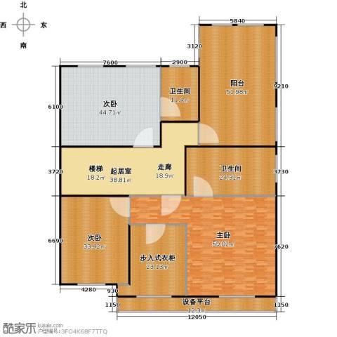 宏润阳光城313.00㎡A-8 三层平面图户型-副本