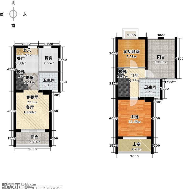 85别墅在90平方米左右的,mini副本别墅-户型联体徐泾面积老的图片