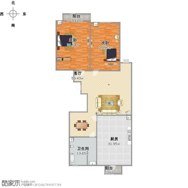70平米两室一厅一厨一卫设计图  一楼三室一厅一厨一卫设计图 宽800×