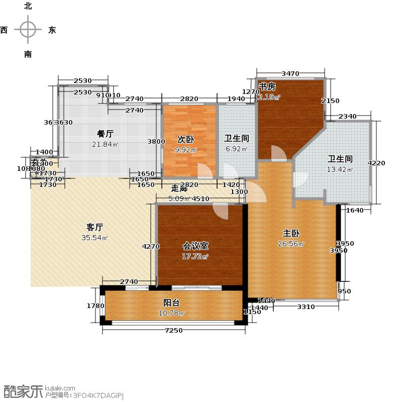 青岛天悦社区小区户型图