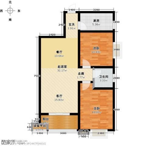 西安公馆5号楼89平米C户型-副本