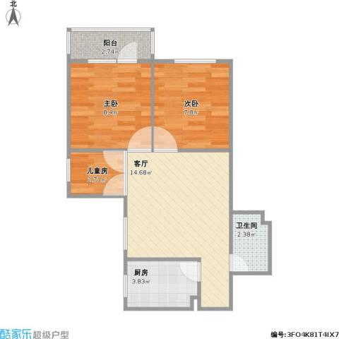 61平方两室两厅