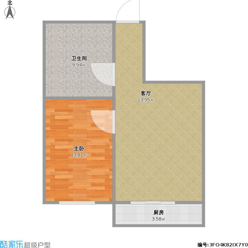 55方一室一厅户型图大全,装修户型图,户型图分析,户型图片