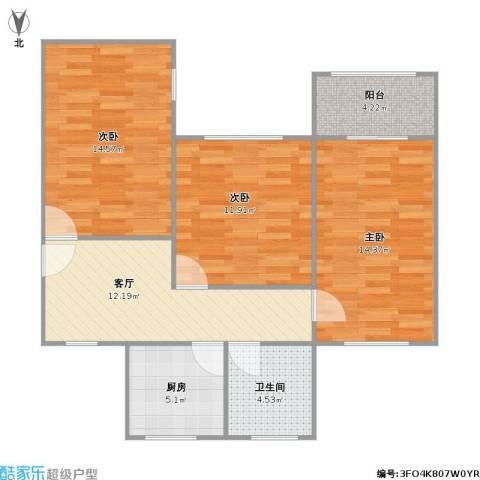 桃浦三村的户型图