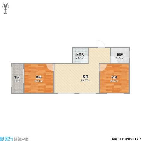 科宁公寓的户型图