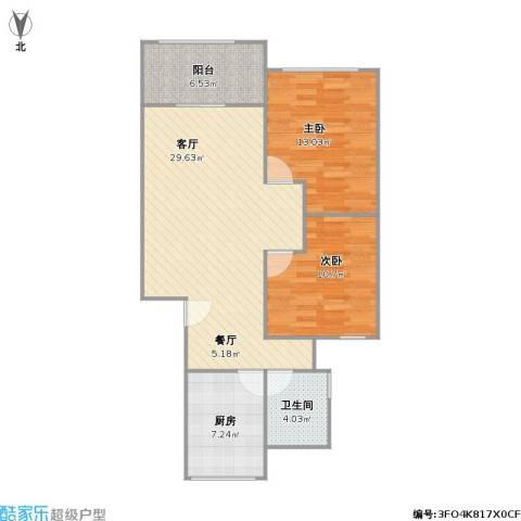 北虹公寓的户型图