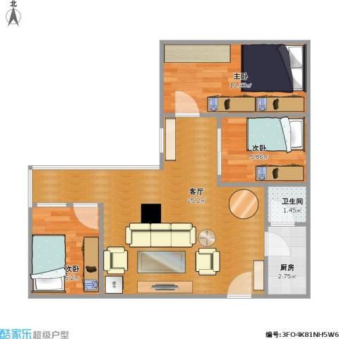 两房一厅-1