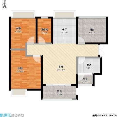 通澄花园两室两厅100平