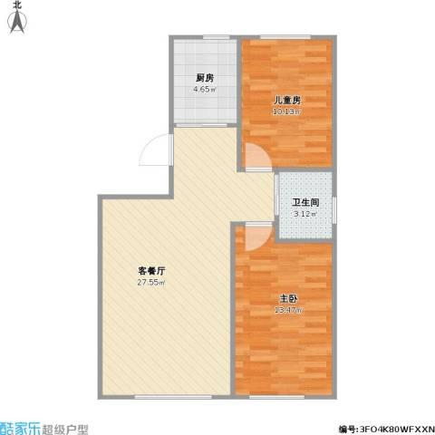 青旅福润家园2-3-01+改后户型