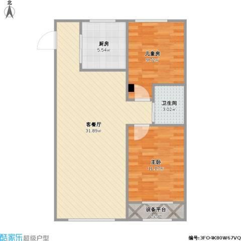 青旅福润家园2-3-03+改后户型