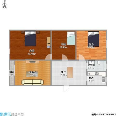 阳光新苑三室两厅